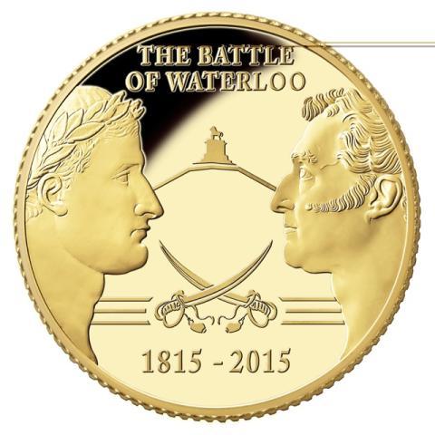 Historic Waterloo Commemorative dispatch will carry unique treasure chest