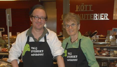 Jens och Ella bjuder på svenskt nötkött