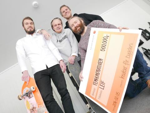500.000 till skatepark i Leksand