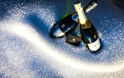 Champagne på kylning