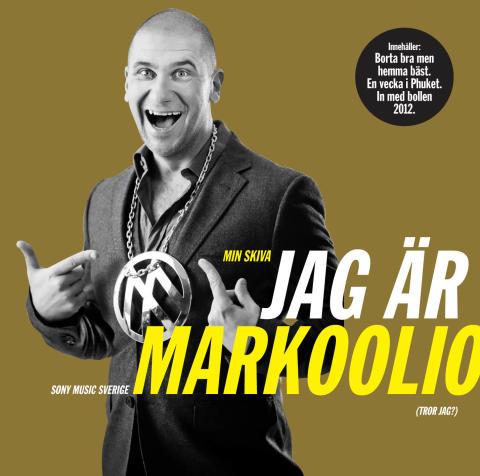 """""""Jag är Markoolio"""" högsta nykomling på albumlistan"""
