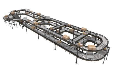 Världspremiär på CeMAT – Interroll presenterar ny modulär plattform för transportband