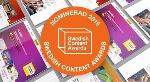 Arkitektkopia nominerade till Swedish Content Awards