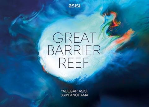 Ab Oktober 2015: Yadegar Asisi zeigt Australiens Great Barrier Reef im Panometer Leipzig