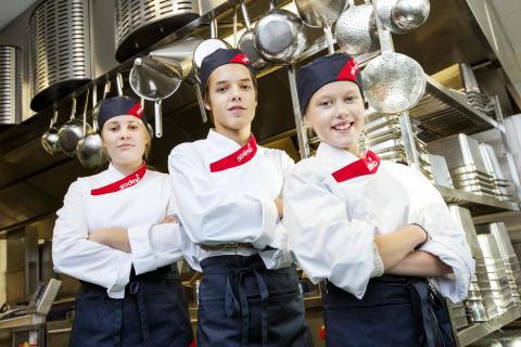 Tre i final i Lidingös elevkock 2013