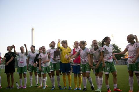 Hammarby Damfotboll presenterar nya ledarstaben