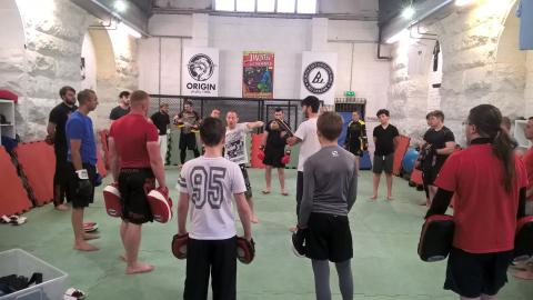 New martial arts programme gets Newcastle youngsters rolling