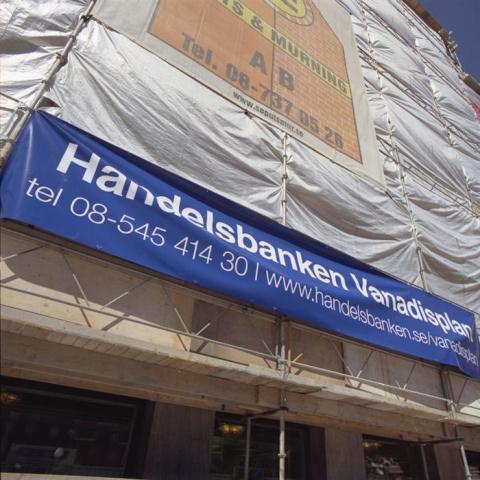 Banderoll Handelsbanken