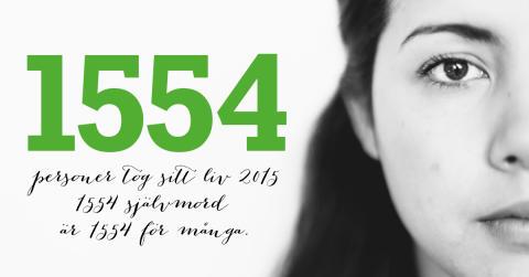 Ny statistik - Så här många tog sitt liv under 2015