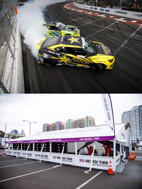 Nexen Tire hovedsponsor for: Norsk sensasjonsmann - og  USAs ledende drifting-serie