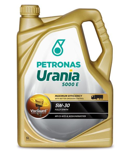 PETRONAS präsentiert PETRONAS Urania mit ViscGuardTM