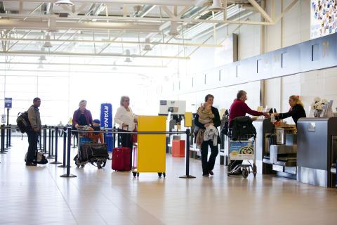 Fortsatt passagerartillväxt på Malmö Airport