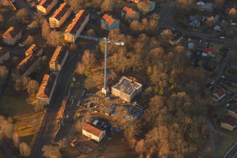 Bostads- och fastighetskoncernen OBOS tar positionen som en av de största i Norden