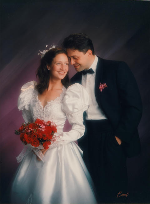 Troløse bilder/Faithless Pictures, Brud 1/Bride 1, 1991, Vibeke Tandberg.