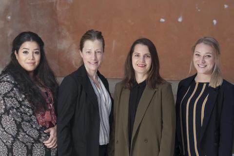 Stockholms stift får fyra nya präster