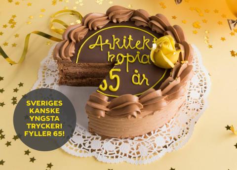 Sveriges kanske yngsta tryckeri fyller 65 år.