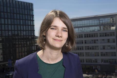 Anja Dahlstedt, 2:e vice ordförande Svensk biblioteksförening