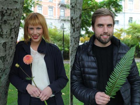 Två Borensbergsfödda florister i svenska landslaget i blomsterbinderi