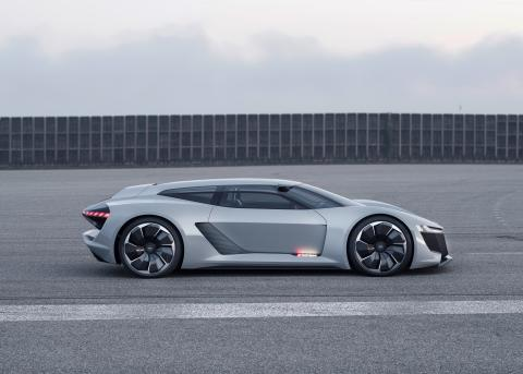 Audi PB18 e-tron (Circuit grey) side