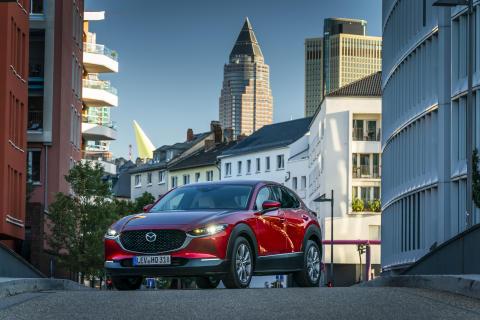 Mazda CX-30 i Soul Red Crystal