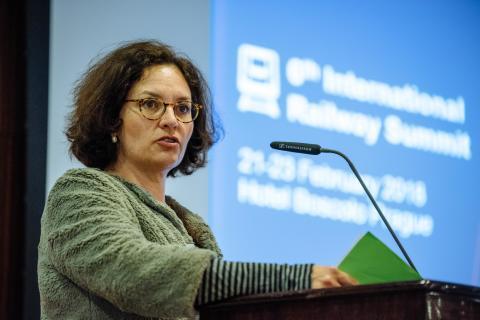 Elisabeth Werner, Director Land Transport, DG MOVE, European Commission to speak at 7th International Railway Summit