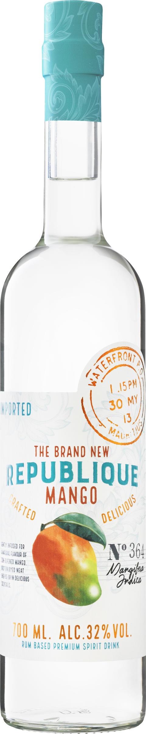 The Brand New Republique Mango Bottle