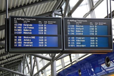 Moskau - Domodedowo steht ab 19.4. auf den Anzeigetafeln im Flughafen Leipzig/Halle