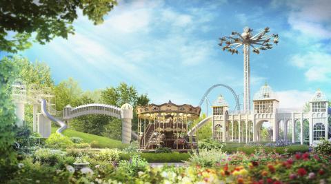 Nytt på Liseberg 2016: AeroSpin, Blomsterkarusell och Barnens Paradis