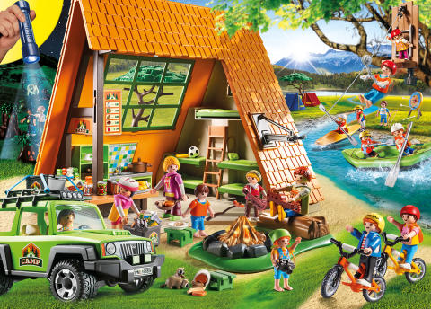 das gro e feriencamp von playmobil playmobil deutschland. Black Bedroom Furniture Sets. Home Design Ideas