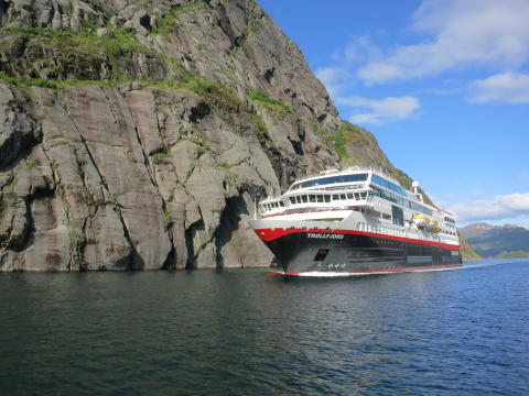 MS Trollfjord Foto Solfrid Bøe Hurtigruten