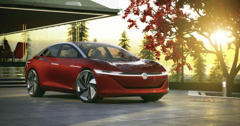 Volkswagen premiärvisar självkörande konceptbil – I.D. VIZZION nytt flaggskepp i eldrivna I.D.-familjen