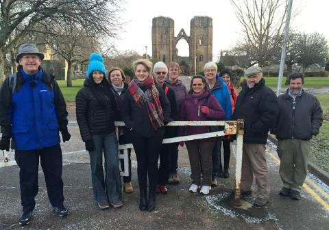 Health walk group