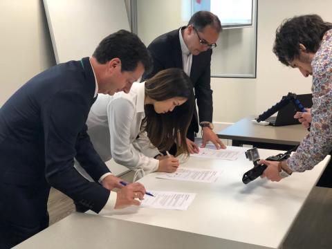 Ocean Tech Japan agreement