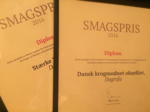 Smagspris 2016_ Dansk krogmodnet oksefilet
