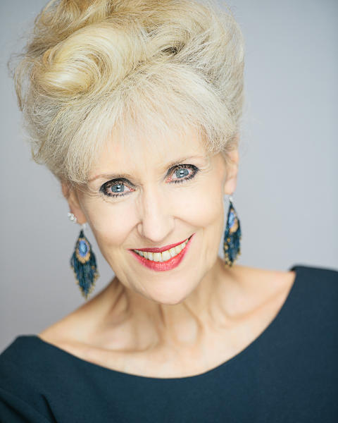 Raise a glass with actress Anita Dobson while raising money for children's charity