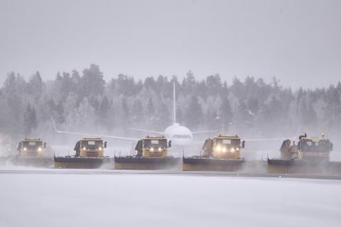 Pilene har snudd for Stavanger lufthavn Sola