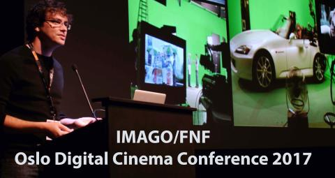 IMAGO/FNF Oslo Digital Cinema Conference 2017