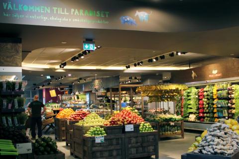 Nu öppnar Paradiset sin andra matmarknad mitt i city
