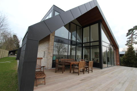 Hus udstyret med Futura+ vinduer