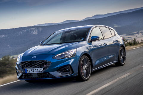 Ford Focus ST Performance Blue