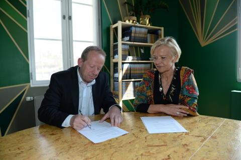 ABB og Nobels Fredssenter inngår ny sponsoravtale