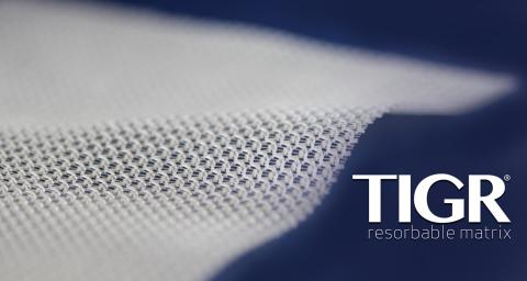 New TIGR®Matrix surgical mesh size available