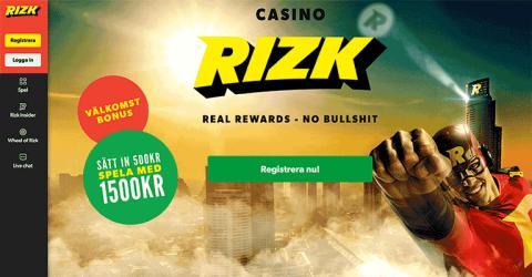 Nya sensationella casinon: Rizk går live med lyckohjul!