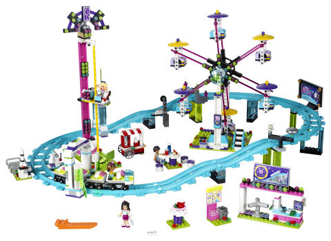 Friends Amusement Park Roller Coaster - Lego