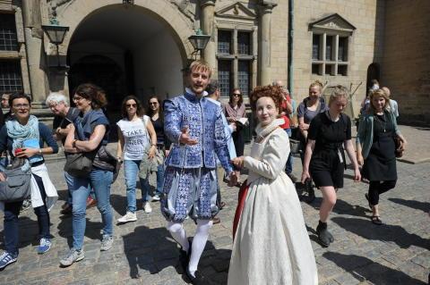 Kronborg Slot sætter besøgsrekord i 2017