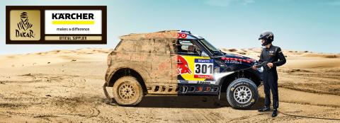 Kärcher rengör Dakar Rally 2016