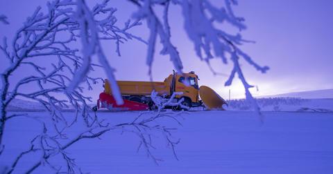Svevia fortsätter sköta om vägarna i Pajala