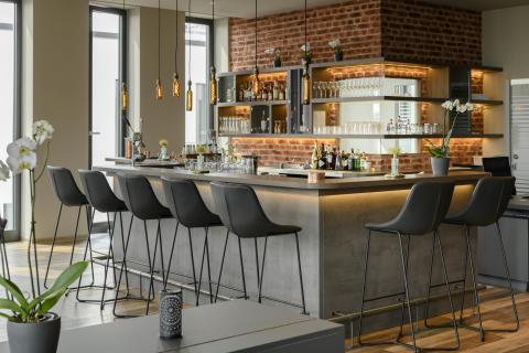 Bar im Aparthotel Adagio Bremen © Christoph Weiss