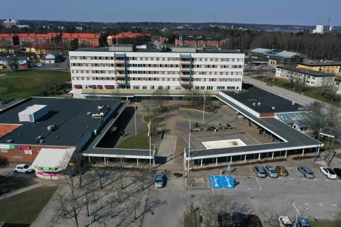 Översikt kvarteret Hackan i Kronogården, Trollhättan