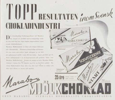 Reklamannons för Marabou